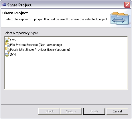 Connect an Existing Project with SVN