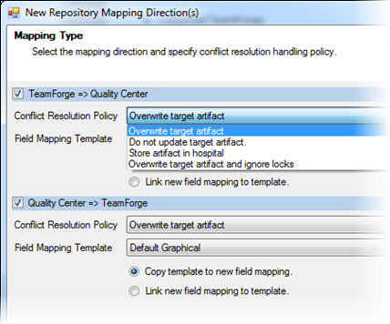 Add a repository mapping